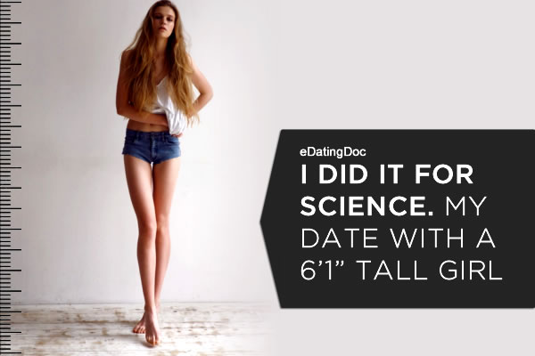 How to date a tall girl.