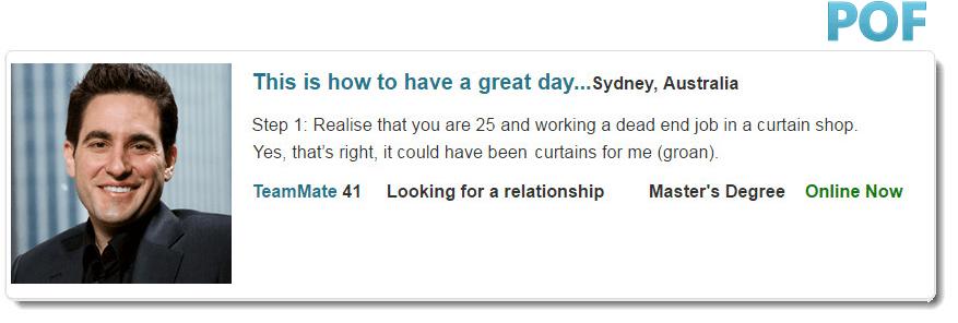 Ongekend verlangen online dating